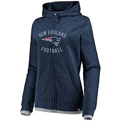 Women's New England Patriots Hyper Full-Zip Hoodie