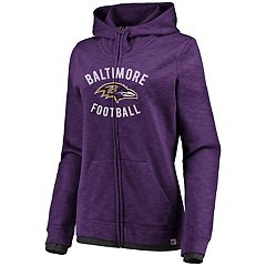 Women's Baltimore Ravens Hyper Full-Zip Hoodie