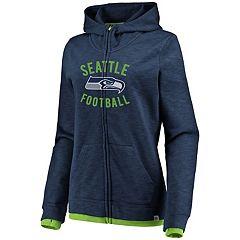 Women's Seattle Seahawks Hyper Full-Zip Hoodie
