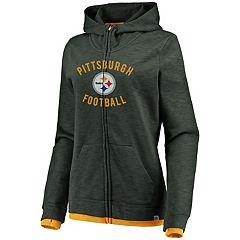 Women's Pittsburgh Steelers Hyper Full-Zip Hoodie
