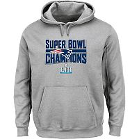 Boys 8-20 New EnglandPatriots Super Bowl LII Champions Sudden Impact Hoodie