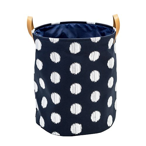 Honey-Can-Do Coastal Collection Portable Laundry Bin