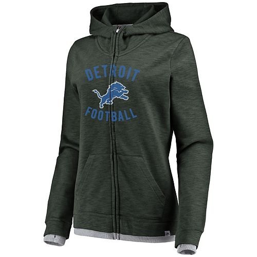 Women's Detroit Lions Hyper Full-Zip Hoodie