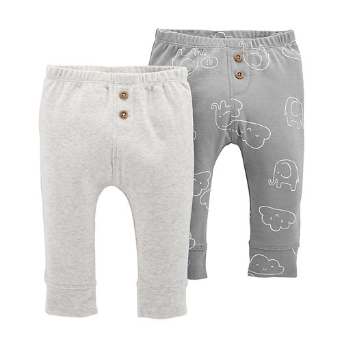 Baby Carter's 2-pk. Graphic & Solid Pants