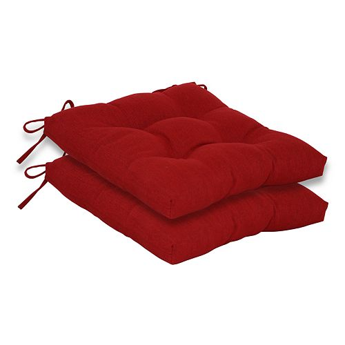 SONOMA Goods for Life™ Elliot 2-piece Indoor Outdoor Reversible Chair Cushion Set