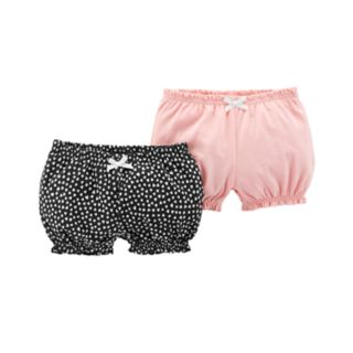 Baby Girl Carter's 2-Pack  Bubble Shorts