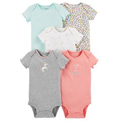 Baby Girl Carter's 5-pack Graphic Bodysuits