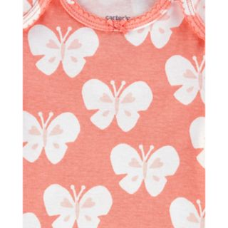 Baby Girl Carter's 5-pack Butterfly Graphic Bodysuits