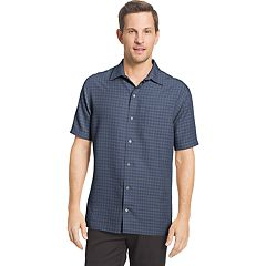 Men's Van Heusen Air Slim-Fit Dobby Casual Button-Down Shirt
