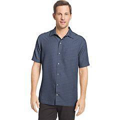 Men's Van Heusen Air Slim-Fit Dobby Casual Button-Down Shirt