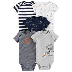 Baby Boy Carter's 5-pack Lion Graphic Bodysuits