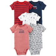 Baby Boy Carter's 5-pack Sports Graphic Bodysuits