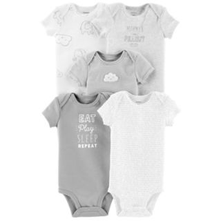 Baby Carter's 5-pack Graphic Body Suits