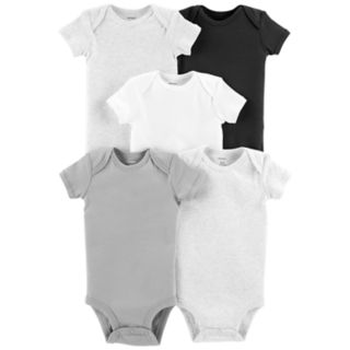 Baby Carter's 5-pack Solid Bodysuits