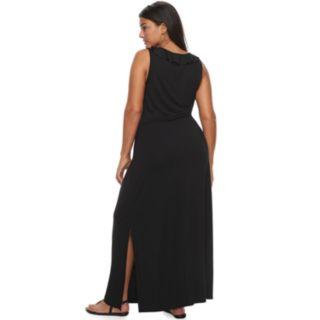 Plus Size Apt. 9® Ruffle Maxi Dress