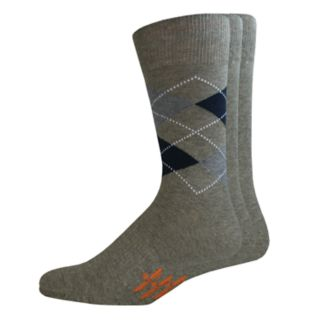 Men's Dockers 3-pack Solid & Patterned Stretch Crew Socks