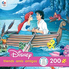 Disney's The Little Mermaid 'Something About Her' Ariel and Eric 200-Piece Puzzle by Ceaco