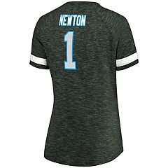 Women's Majestic Carolina Panthers Cam Newton Tee