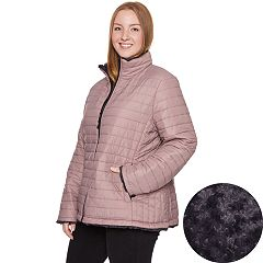 Plus Size Halitech Faux-Fur Reversible Jacket