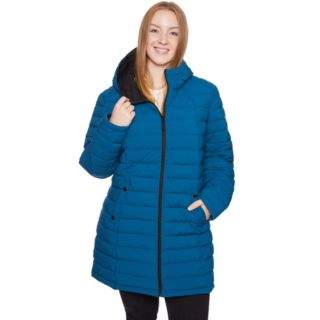 Plus Size Halitech Midweight Stretch Puffer Jacket