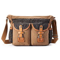 The Same Direction Tapa Messenger Bag