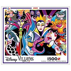 Disney's 1500-Piece Disney Villains Puzzle by Ceaco