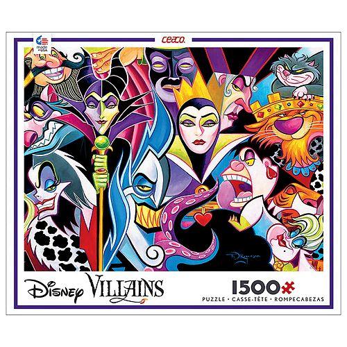 Disney's 1500-Piece Disney Villains Puzzle by Ceaco