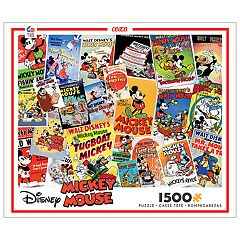 Disney's 1500-Piece Vintage Collage Puzzle by Ceaco