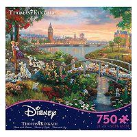 Disney's 750-Piece Thomas Kinkade 101 Dalmatians Disney Dreams Puzzle by Ceaco