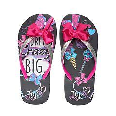 Girls 4-16 JoJo Siwa 'Dream Crazy Big' Bow Thong Flip Flop Sandals