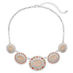 Oval Link Nickel Free Statement Necklace