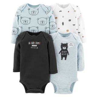 Baby Boy Carter's 4-pack Bear Graphic Bodysuits