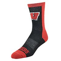 Men's Wisconsin Badgers Loud & Proud Crew Socks