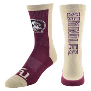 Men's Florida State Seminoles Loud & Proud Crew Socks