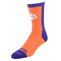 Men's Clemson Tigers Loud & Proud Crew Socks