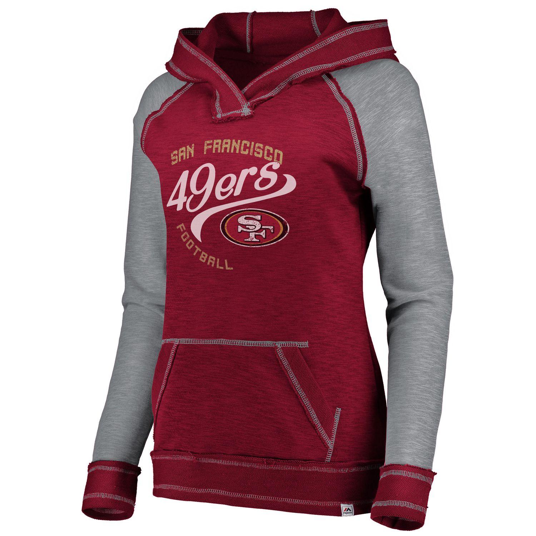 49ers women's sweatshirt