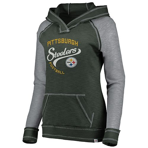 hot sale online f65e6 643c9 Women's Pittsburgh Steelers Hyper Hoodie
