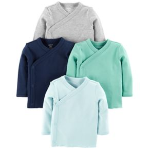 Baby Boy Carter's 4-pack Side Snap Tees