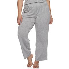 Plus Size SONOMA Goods for Life™ Essential Pajama Pants