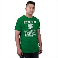 Men's St. Paddy's Day Warning Tee