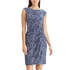 Women's Chaps Geometric Twist Knot Dress