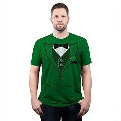 Men's Shamrock Color Tux Tee