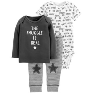 Baby Boy Carter's 3-piece. Graphic Bodysuit, Tee & Pants Set