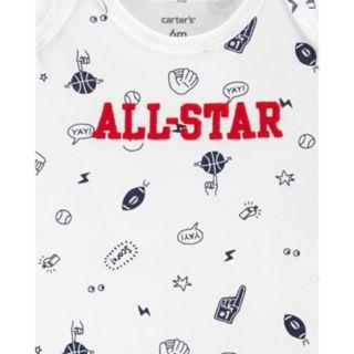 "Baby Boy Carter's 3-piece. ""All Star"" Bodysuit & Pants Set"