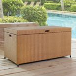Crosley Furniture Palm Harbor Patio Wicker Storage Bin