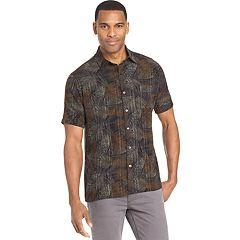 Men's Van Heusen Air Slim-Fit Patterned Button-Down Shirt