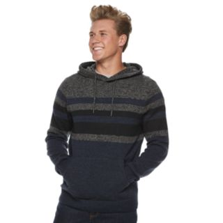 Men's Urban Pipeline® Striped Pull-Over Hoodie Sweater