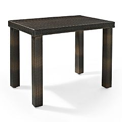 Crosley Furniture Palm Harbor Wicker Patio High Dining Table