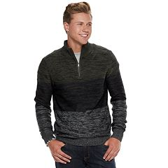 Men's Urban Pipeline® Textured Quarter-Zip Sweater