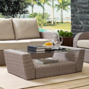 Crosley Furniture St. Augustine Patio Wicker Coffee Table